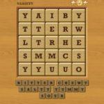 Words Crush Variety Theme 7 Level Tastes