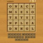 Words Crush Variety Theme 7 Level You Can Raise It