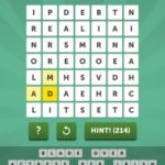 Word Mania Lagoon Level 29-542