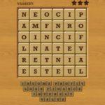 Words crush variety theme 10 money