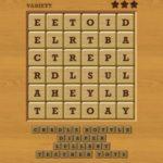 Words crush variety theme 9 baby shower