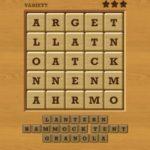Words crush variety theme 9 campin