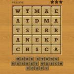 Words crush variety theme 9 night