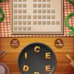 Word cookies chocolate 12