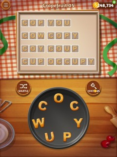 Word cookies grapefruit 5