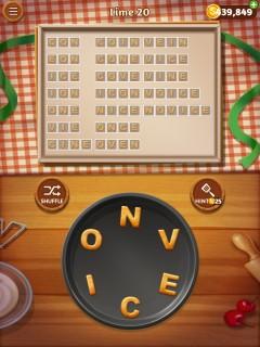 Word cookies lime 20