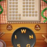 Word cookies peach 1