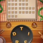 Word cookies peach 10