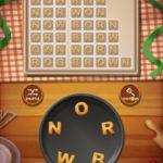 Word cookies peach 12