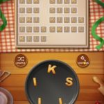 Word cookies peach 14