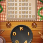 Word cookies peach 15