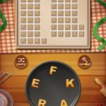 Word cookies peach 16
