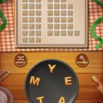 Word cookies peach 18