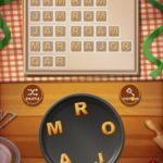 Word cookies peach 3