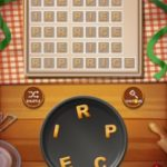 Word cookies peach 5