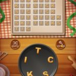 Word cookies peach 6