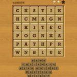 Words crush variety theme 12 chess