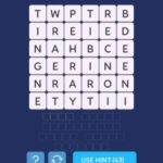 Word spark select family level 1