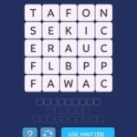 Word spark select in the morning level 1