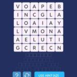 Word spark select landscape level 1
