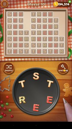 Word cookies executive chef cheese 10
