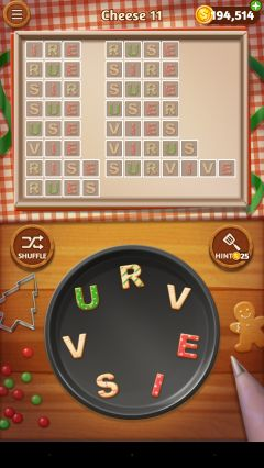 Word cookies executive chef cheese 11