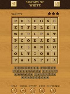 Words crush variety theme 14 level 16
