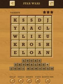 Words crush variety theme 14 level 4