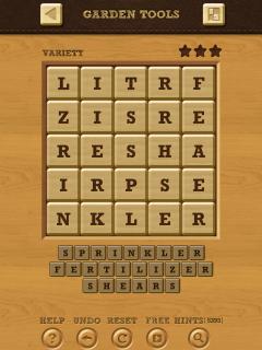 Words crush variety theme 14 level 7