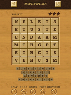 Words crush variety theme 15 level 10