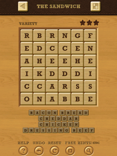 Words crush variety theme 15 level 7
