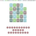 Wordwhizzle alien level 1024