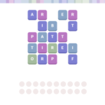 Wordwhizzle ghost level 1113