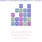 Wordwhizzle ghost level 1122