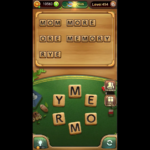 Word connect level 454