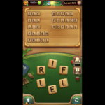Word connect level 465