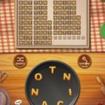 Word cookies almond 09