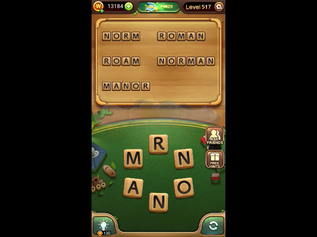 Word connect level 517
