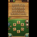 Word connect level 550