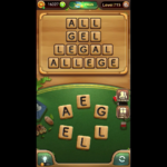 Word connect level 715