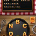 Word crumble bean curd level 16
