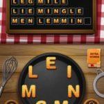 Word crumble bean curd level 7