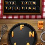 Word crumble financier level 7