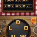 Word crumble fruity robo level 2
