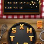 Word crumble shashlik level 6