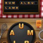 Word crumble tiramisu level 12