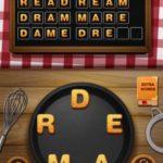 Word crumble tiramisu level 7
