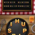 Word crumble whit fungus level 6