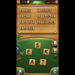 Word connect level 1058