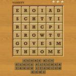 Words crush variety theme 16 level 6